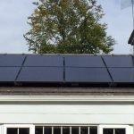 solar panels capturing light