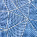a solar panel grid pattern